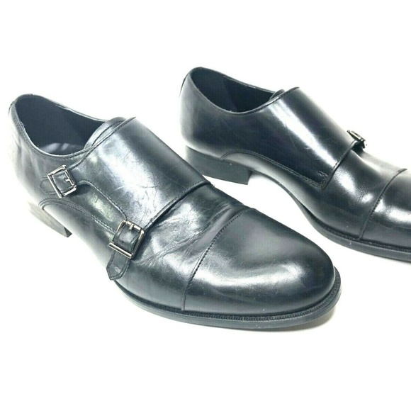 Zara Man Other - Zara Man Double Monk Strap Leather Dress Shoes 11